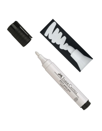 Faber Castell PITT Artists' Pen White