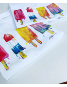 Watercolor Popsicle Toddler T-Shirt