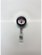 Aubie Retractable Badge Holder Navy