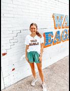 League Block War Eagle V-Neck T-Shirt
