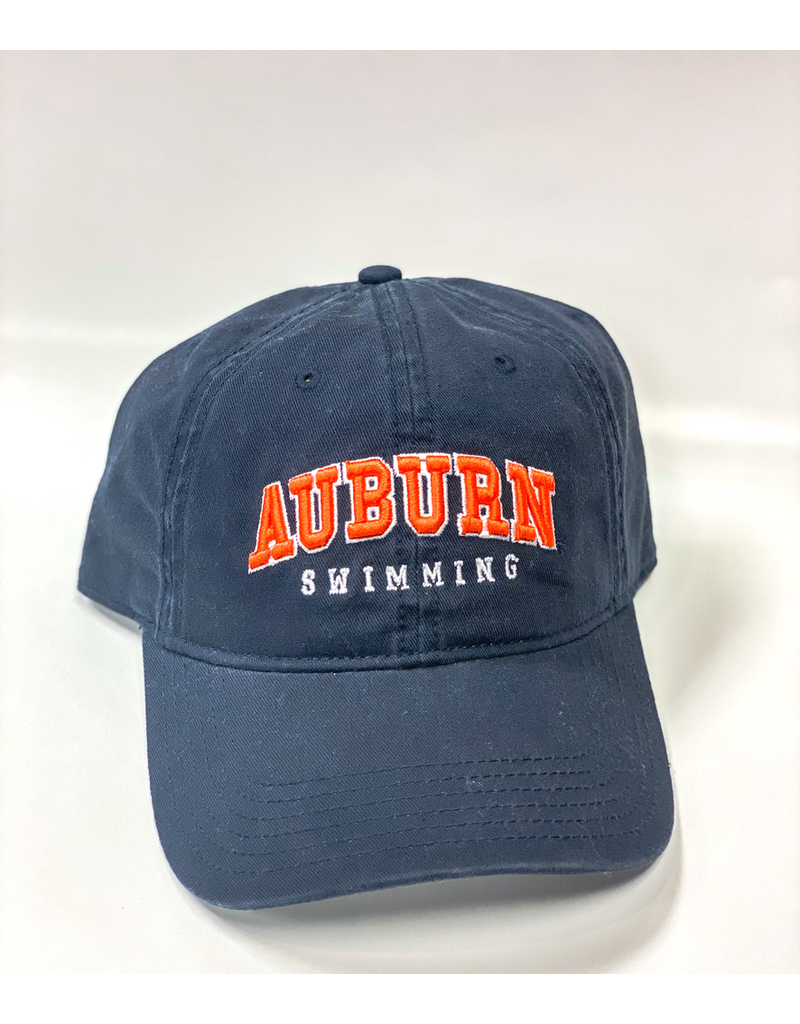 Arch Auburn Swimming Hat, Navy, OSFA