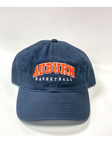 Arch Auburn Basketball Hat, Navy. OSFA