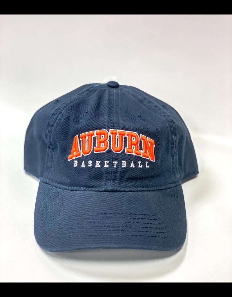Arch Auburn Basketball Hat, Navy. OSFA