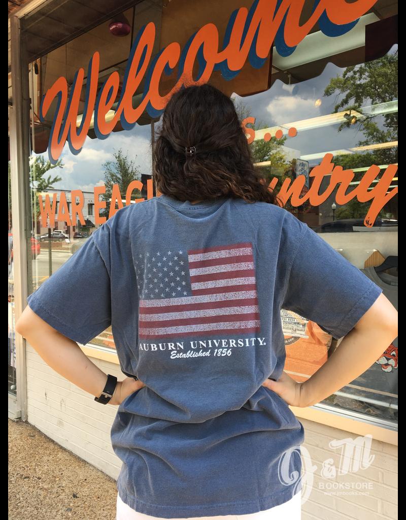 MV Sport Auburn University 1856 War Eagle Flag T-Shirt