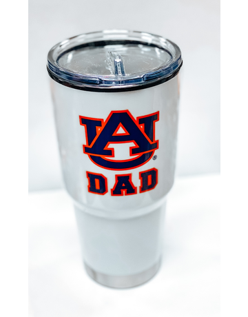 AU Dad 24 oz. White Tumbler