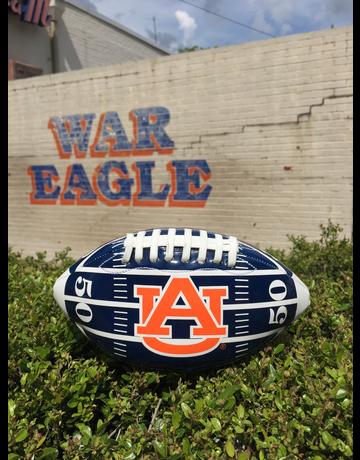 Auburn Field Mini-Size Gloss Footballs