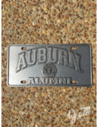 Arch Auburn Seal Alumni License Plate
