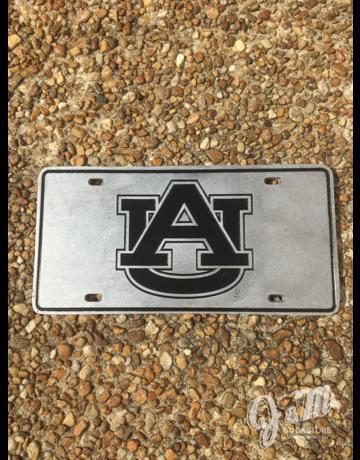 Recessed AU License Plate