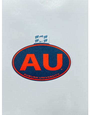 Blue 84 Euro Style AU Auburn University Decal