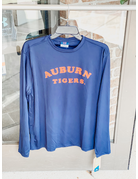 MV Sport Arch Auburn Tigers Long Sleeve Sunproof T-Shirt