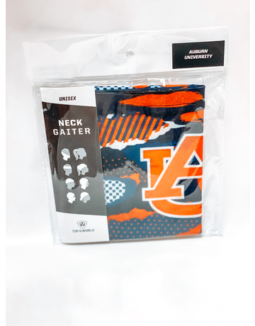 AU Digital Camo Team Neck Gaiter Mask