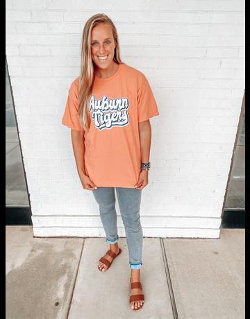 MV Sport Retro Script Auburn Tigers T-Shirt
