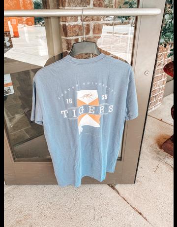 Tigerwear Auburn University Tigers State Flag State T-Shirt