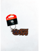 AU Auburn Tigers Bubble Print Impulse Keychain