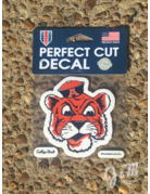 Perfect Cut Vintage Aubie Decal