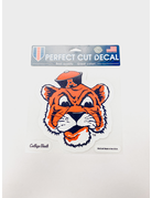 Vintage Aubie Large Perfect Cut Decal - 8x8
