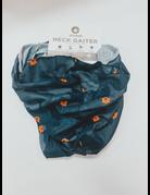 League Mini AU All Over Navy/Grey Camo Seamless Gaiter Mask