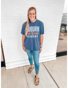League Auburn Double Bar Vintage Aubie Tigers T-Shirt