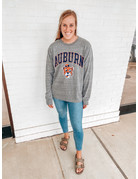 League Arch Auburn Large Vintage Aubie Long Sleeve T-Shirt