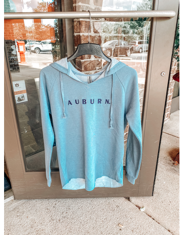 Tigerwear Auburn Wave Wash Fleece Hoodie