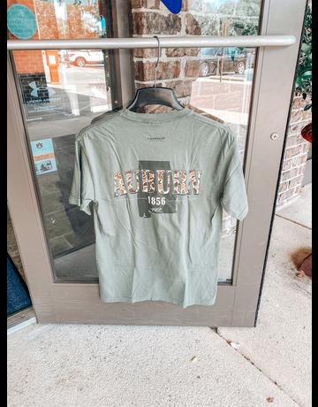 Tigerwear Old School Auburn Camo T-Shirt