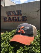 Eagle Thru A Three Tone Mesh Hat