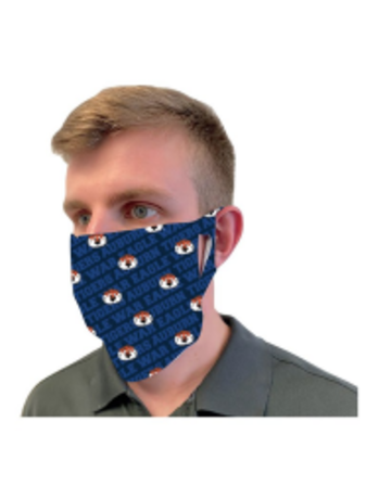 Aubie Reusable Fan Mask