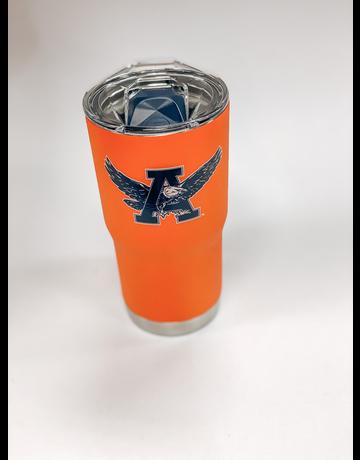 Eagle Thru A Orange 20 oz. Tumbler with Lid