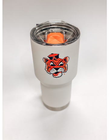Vintage Aubie 30 oz. Tumbler with Lid