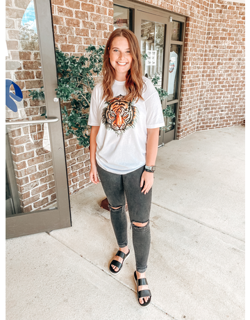 Stewart Simmons Tiger Head T-Shirt