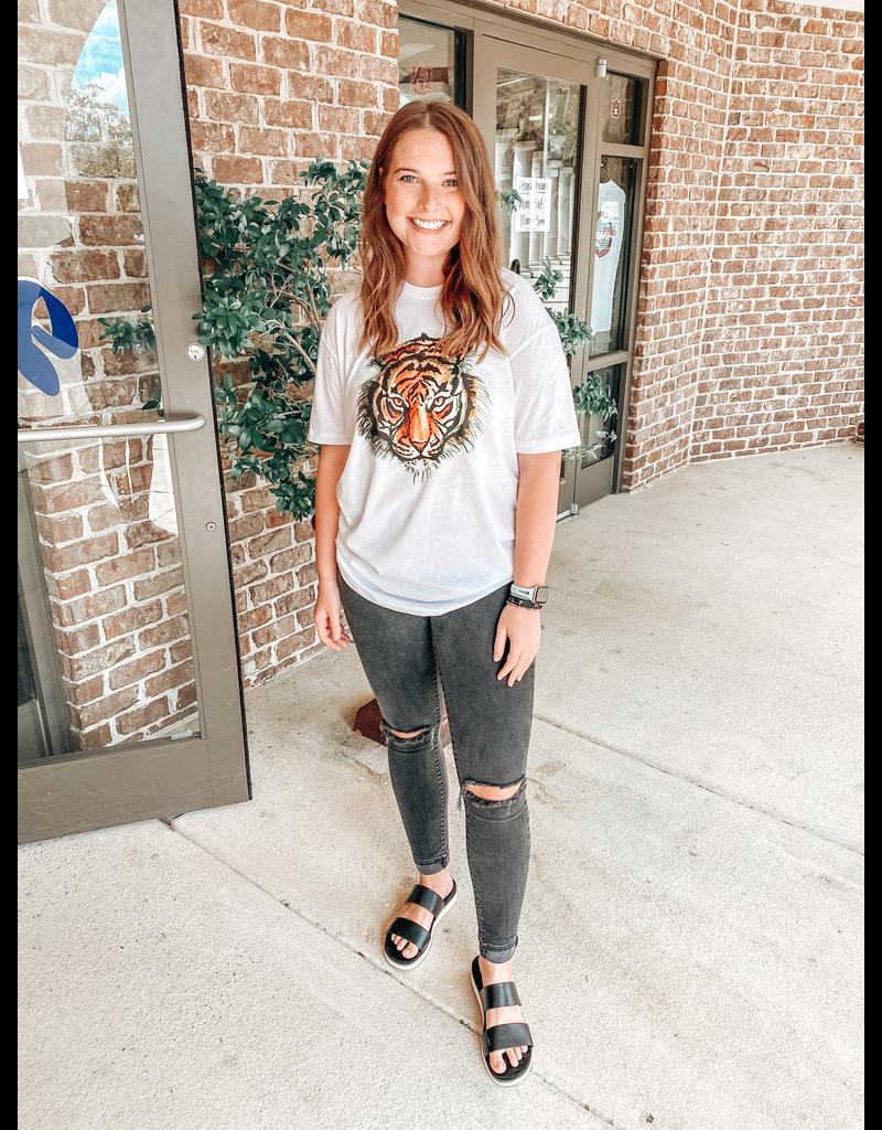 Stewart Simmons Tiger Head T-Shirt