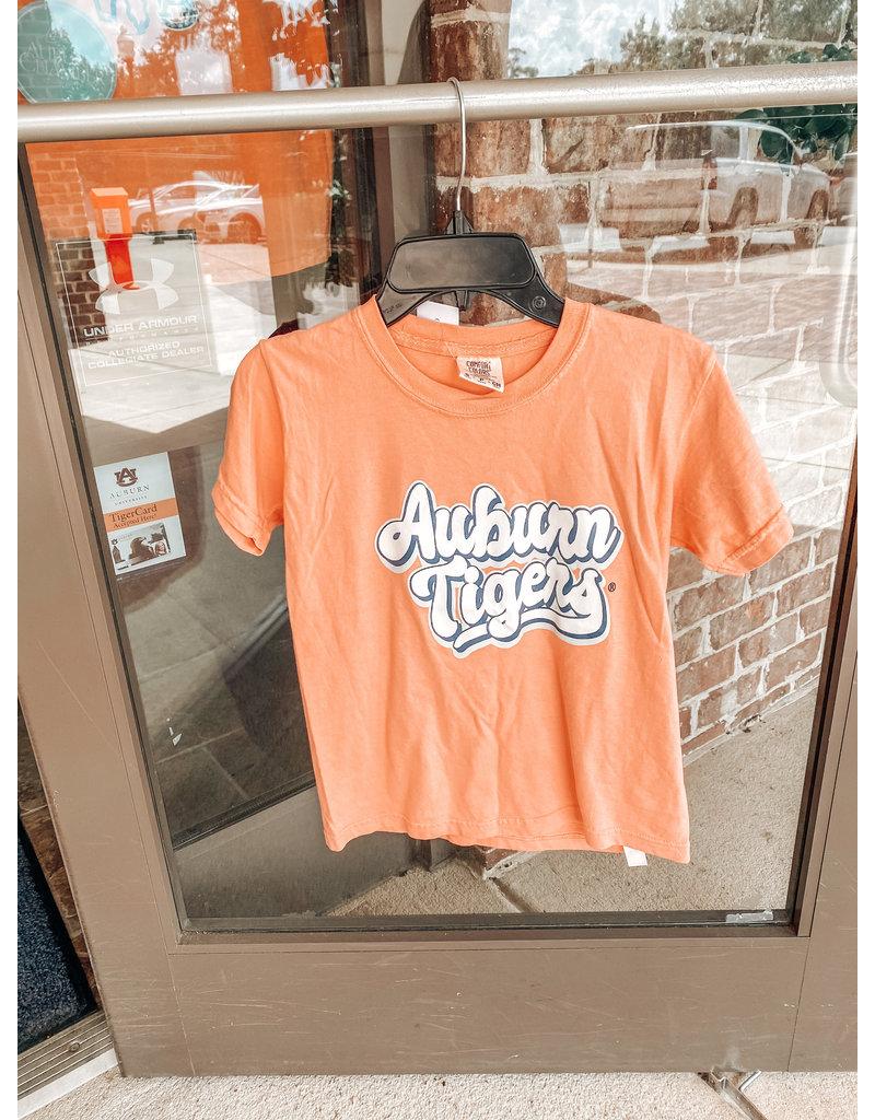 MV Sport Retro Script Auburn Tigers Youth T-Shirt