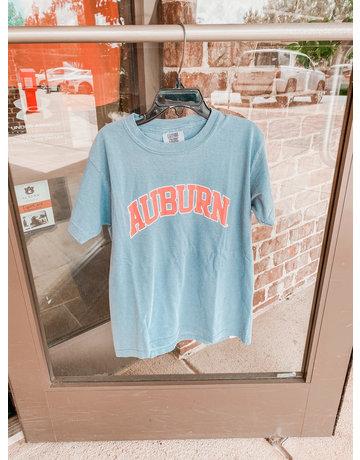 MV Sport Arch Auburn Comfort Color Youth T-Shirt