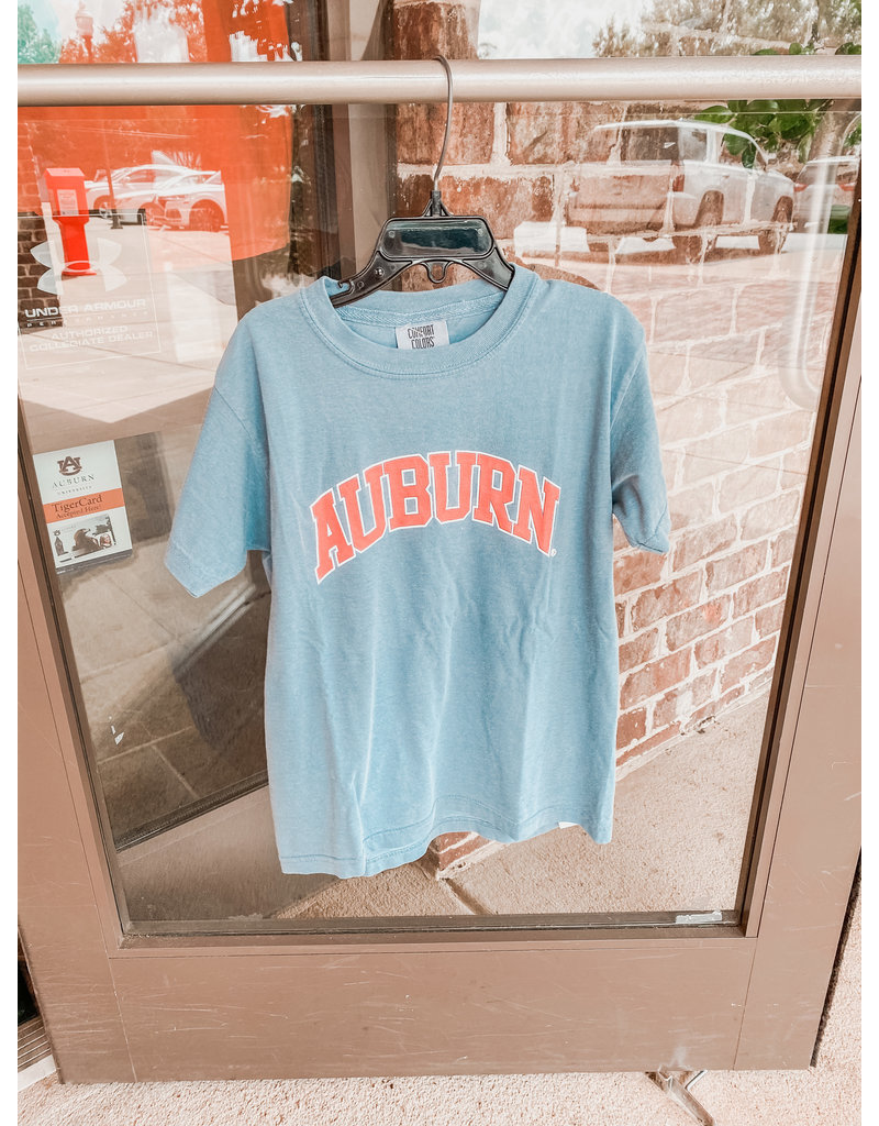 MV Sport Arch Auburn Comfort Color Youth T-Shirt