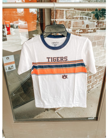 Tigers AU Short Sleeve Ringer Top