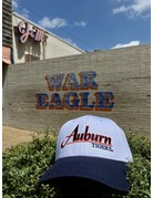 The Game Classic Auburn Two Tone White and Navy Throwback Hat