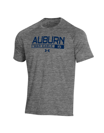 Under Armour F20 Auburn Boxed War Eagle Novelty Tech T-Shirt