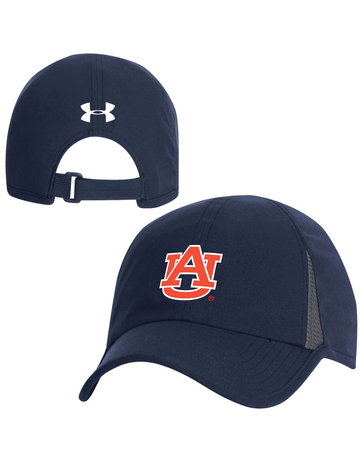 Under Armour F20 AU Sideline Shadow 4.0 Running Hat, Navy