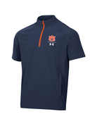 Under Armour F20 Sideline AU Short Sleeve Coaches 1/4 ZIp Pullover