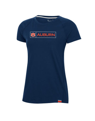 Under Armour F20 Womens AU Auburn Boxed Sideline T-Shirt