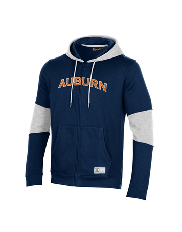 Under Armour F20 Arch Auburn Full Zip Gameday Hoodie