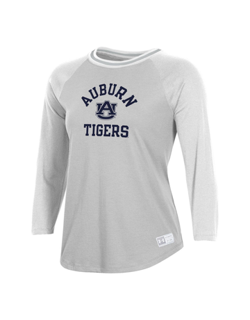 Under Armour F20 Auburn AU Tigers Womens Gameday Baseball T-Shirt