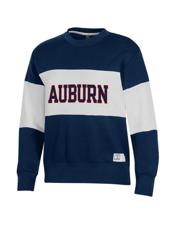 Under Armour F20 Womens Block Auburn Two Tone Gameday Crew