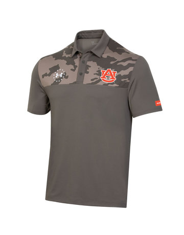 Under Armour F20 Military Appreciation Auburn Camo Polo