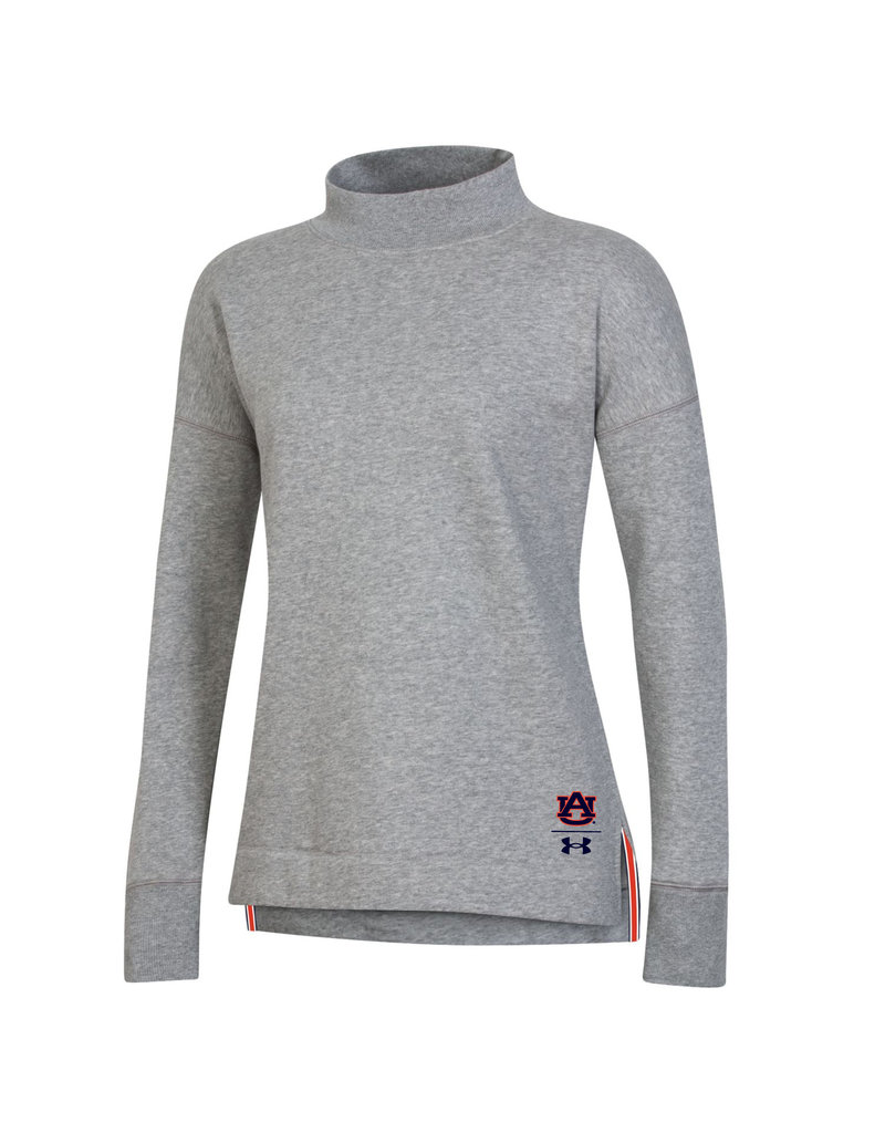 Under Armour F20 Auburn on Back Womens Campus Fleece Crew