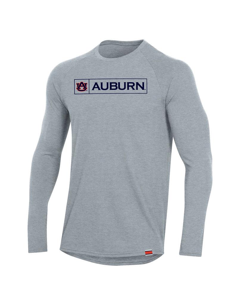 Under Armour F20 Boxed AU Auburn Sideline Long Sleeve Performance Cotton T-Shirt