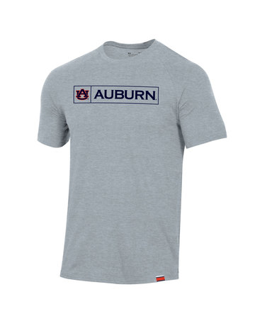 Under Armour F20 Boxed AU Auburn Sideline Performance Cotton T-Shirt