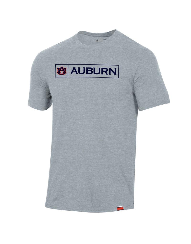 Under Armour F20 Boxed AU Auburn Sideline Performance Cotton T-Shirt