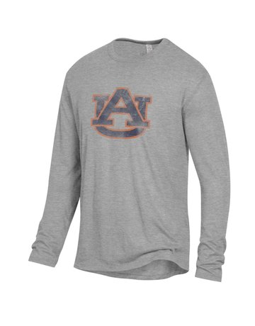 Alternative Apparel Distressed AU Long Sleeve Keeper T-Shirt