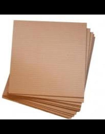 "Corrugated cardboard E flute 1/16"" 32""x40"""